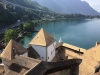 Chillon Castle Overlooking Lake Geneva