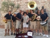 The band and an Assisi fan.jpg